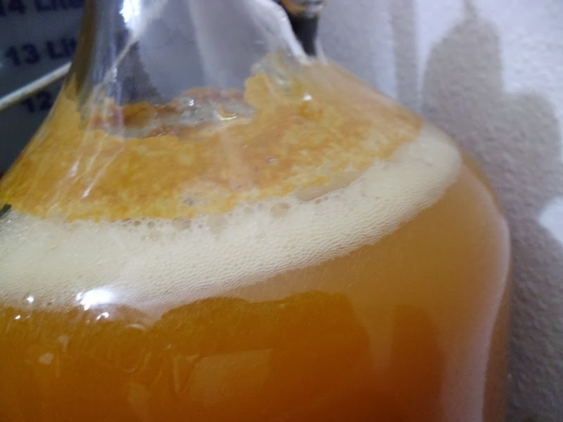 Cider fermenting