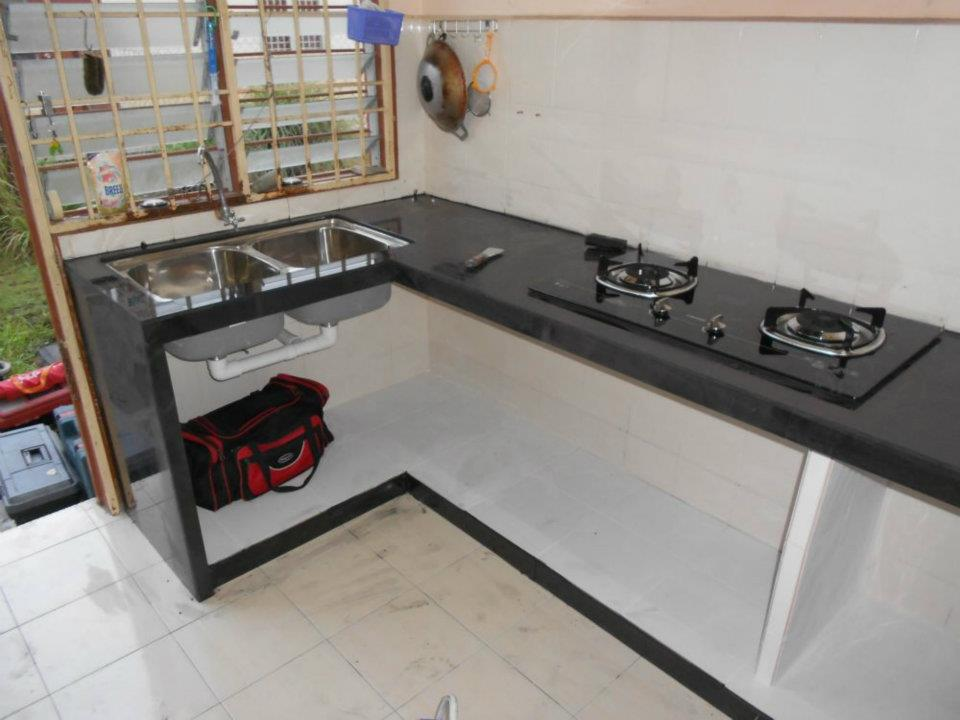 Rumah Ini Itu Kabinet Dapur G Orange Mudah Alih Murah Desainrumahid