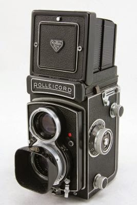 vintage Rolleicord camera's