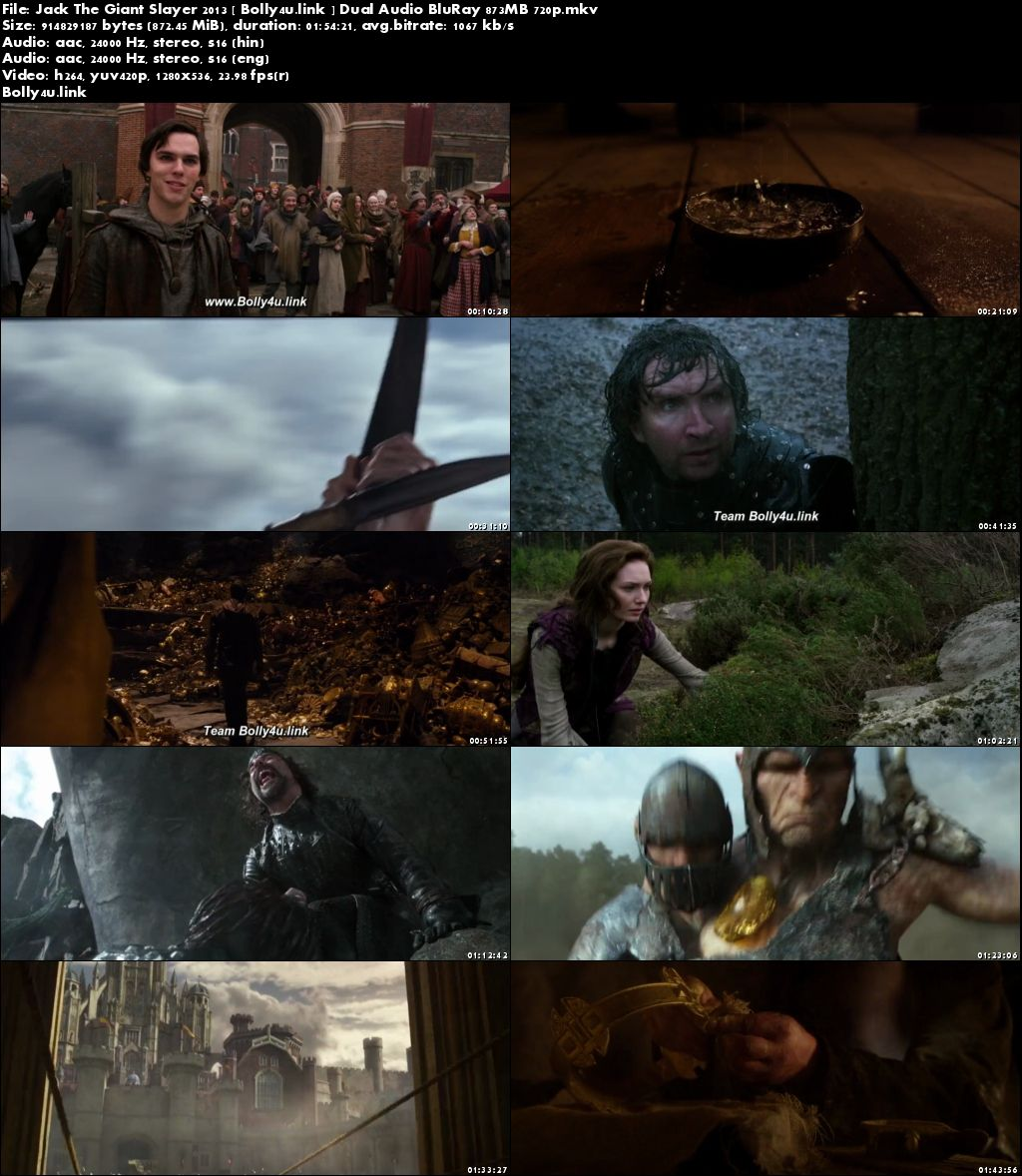 Jack The Giant Slayer 2013 BRRip 300Mb Hindi Dual Audio 480p Download