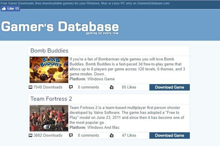 gamersdatabase.com