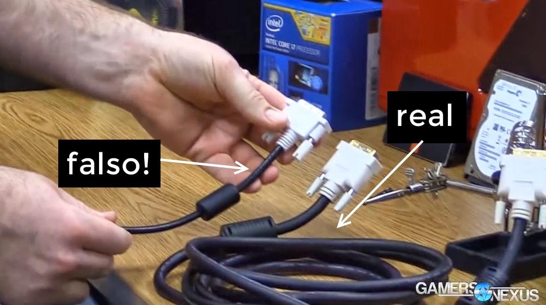 dvi dual link: Fonte/Reprodução: Gizmodo