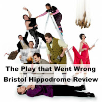 The Play That Went Wrong Bristol Hippodrome Review Production Shot