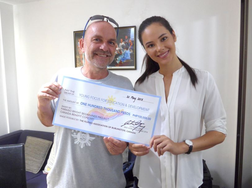 Catriona's artworks help fund charity projects