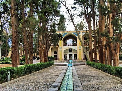 Fin Garden of Kashan, Iran.