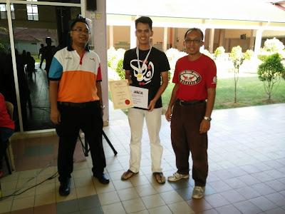 Naib Johan Kategori Lelaki Kejohanan Catur Rapid Terbuka PSIS