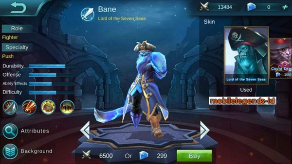Item Build Hero Bane : Mobile Legends