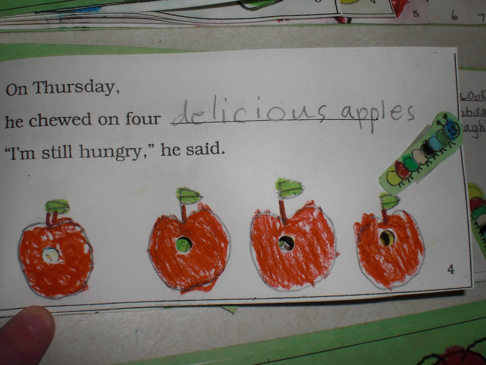 Patties Classroom The Very Hungry Caterpillar Amp Eric