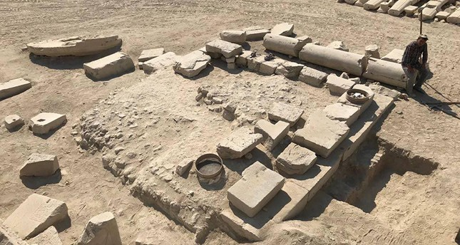 2,000 year old olive oil mill found in ancient city of Tripolis