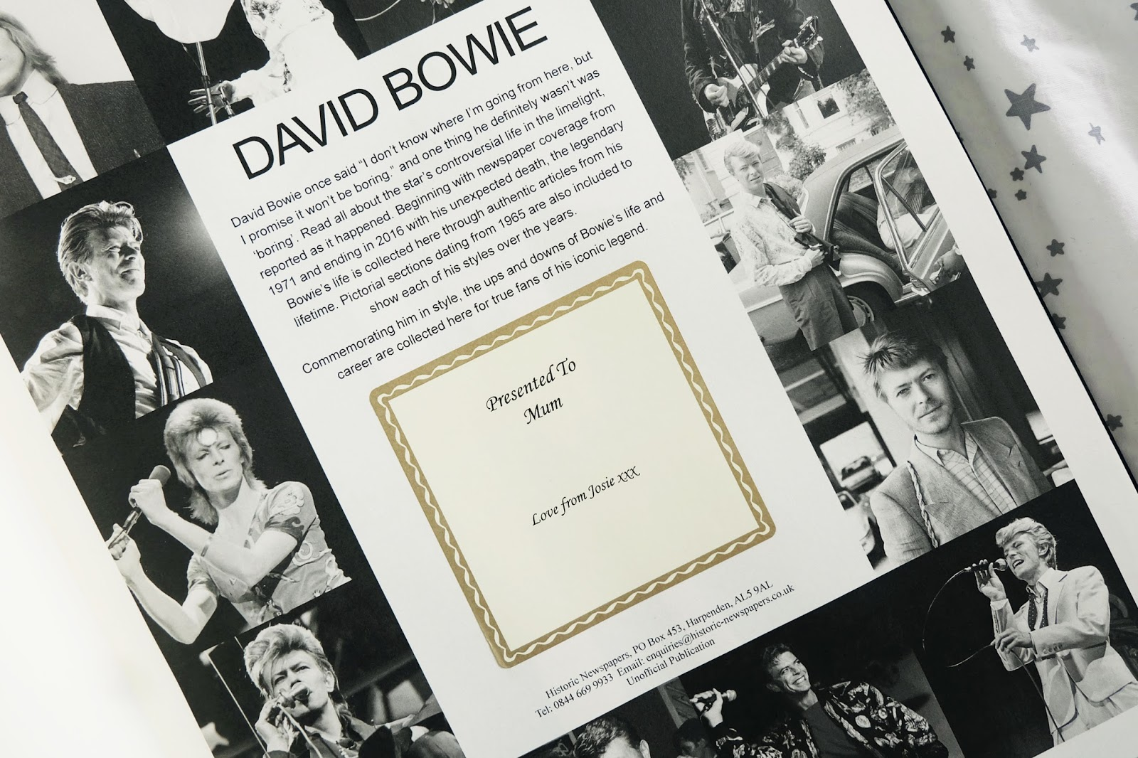 www.ijustloveit.com david bowie newspaper book review, david bowie newspaper book review, i just love it bowie book review, david bowie book