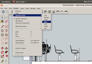 Standard Views Cara Impor file AutoCAD ke Sketchup