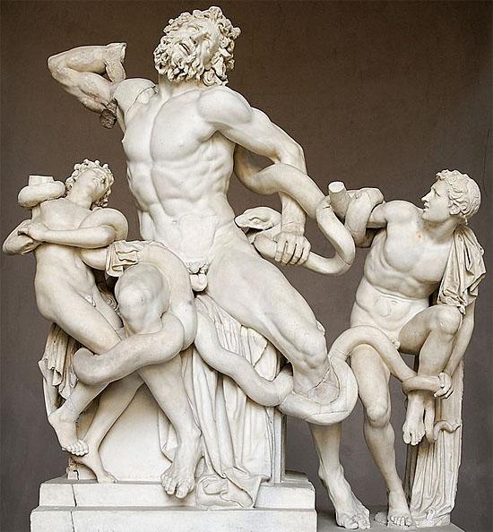Estátua Grega antiga