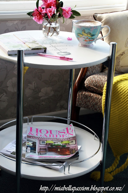 Trolley Table Upcycle & Reverse Transfer Image Tutorial
