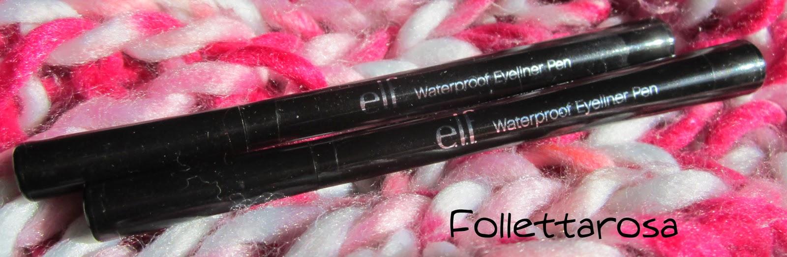 recensione eyeliner elf linea base