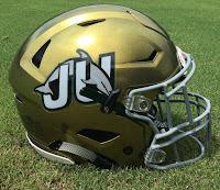 jacksonville dolphins helmet gold 2017