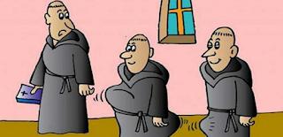 ΑΝΕΚΔΟΤΟ: Οι τρεις καλόγεροι!