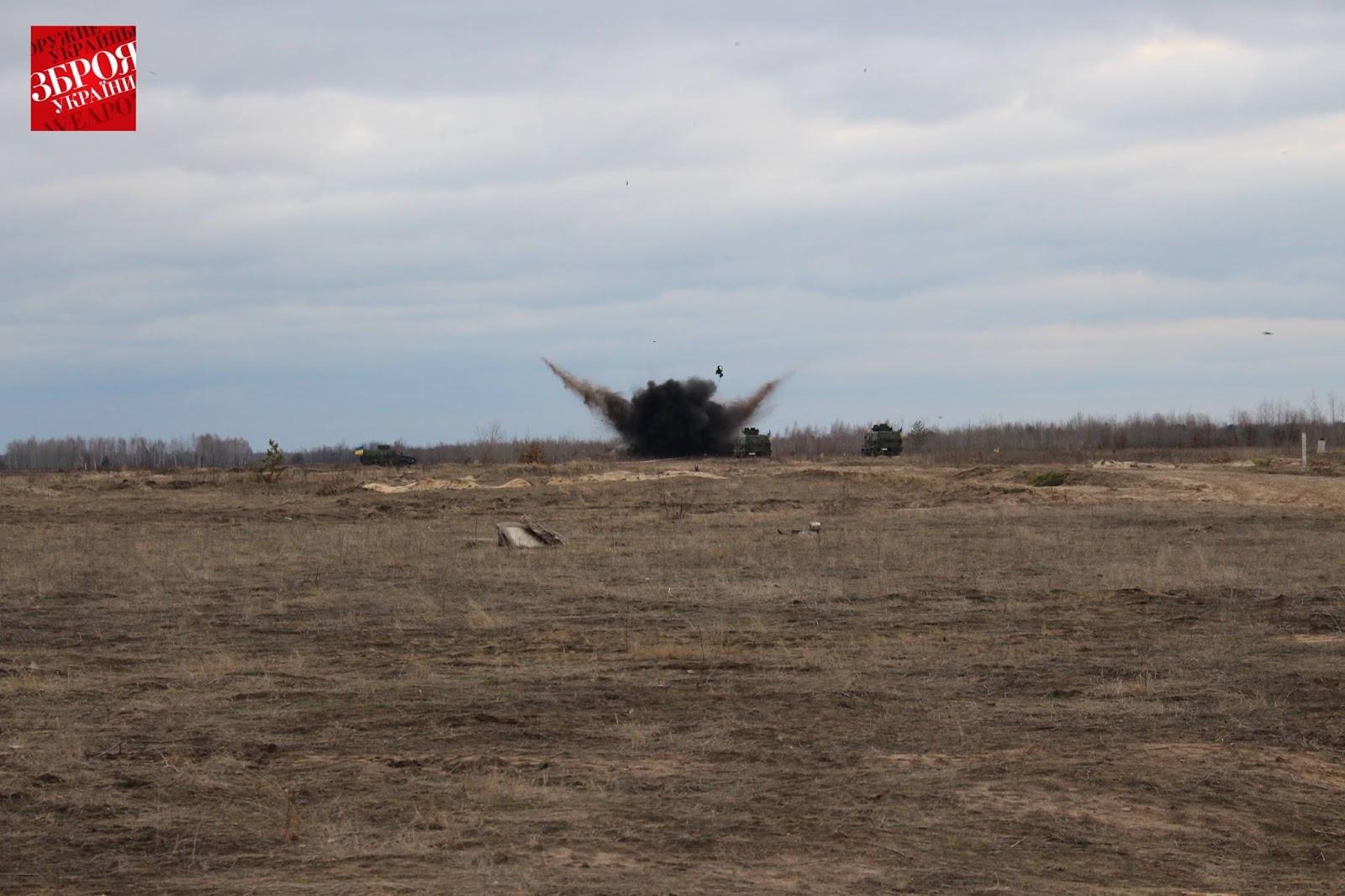 Бронеавтомобіль «Козак-2» випробування на протимінну стійкість