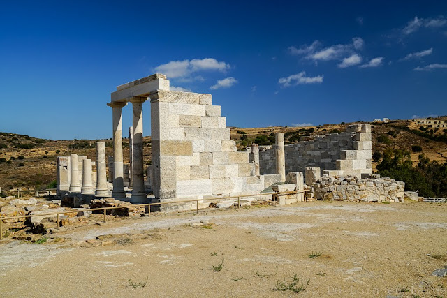 Temple de Déméter-Naxos-Cyclades