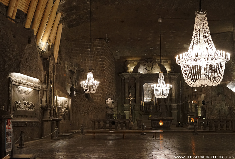 The Wieliczka Salt Mine in Poland
