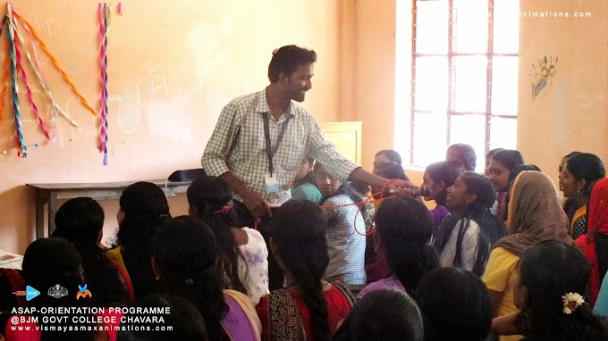 Students Orientation Programme -Team Vismayasmax with ASAP(Additional Skill Acquisition Programme)@Chavara