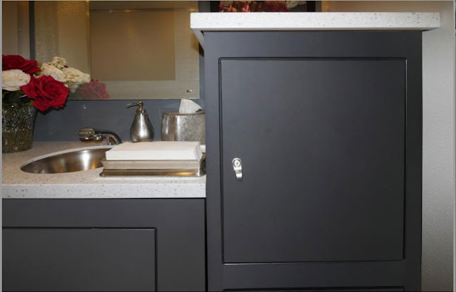 The Soho Restroom Storage Cabinetry