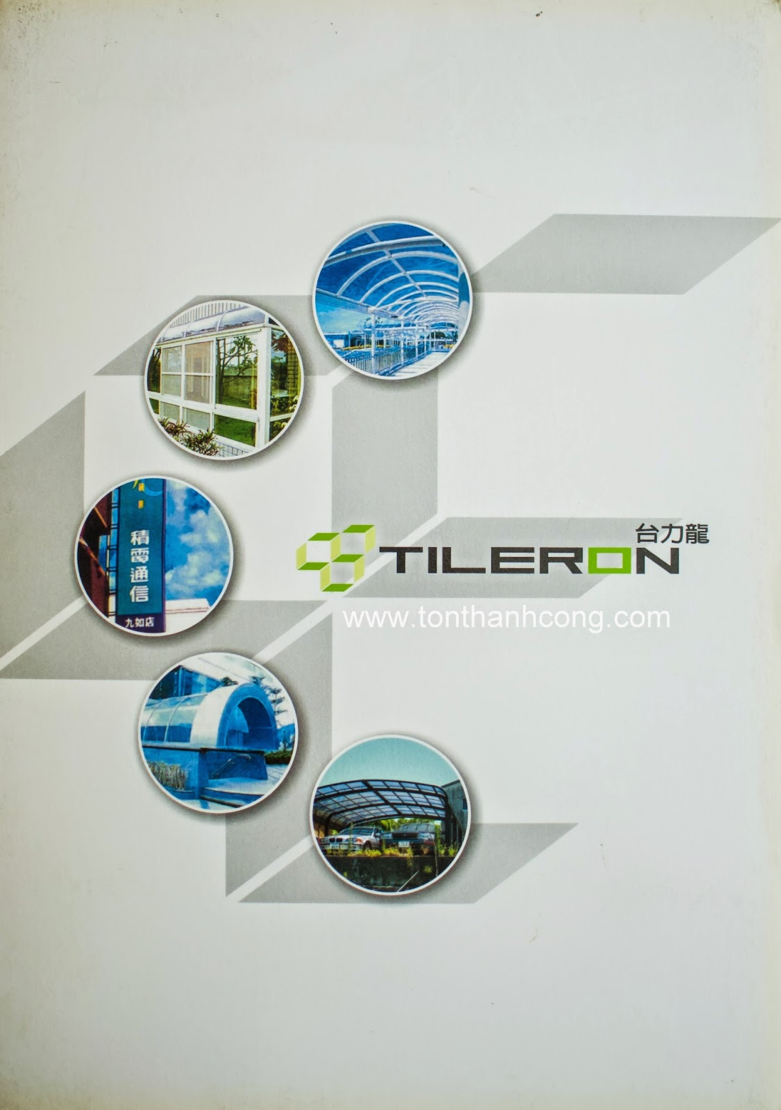 Catalogue Tấm Lấy Sáng Polycarbonate Đặc Ruột Tileron- Trang 1