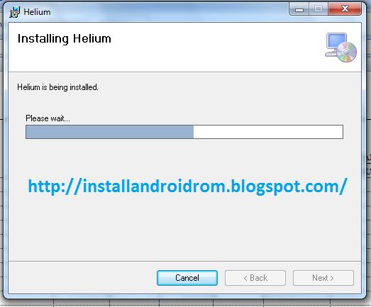 Install Helium On PC Windows