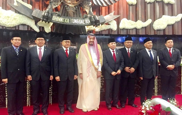 Salman bin Abdulaziz Al Saud is King of Saudi Arabia in Indonesia