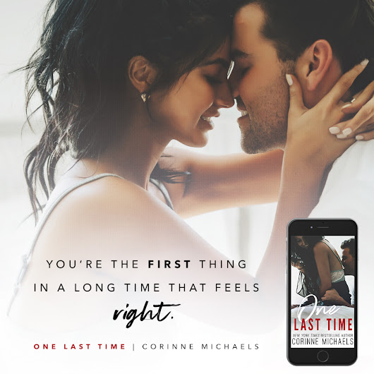 New Teaser from One Last Time by Corinne Michaels
