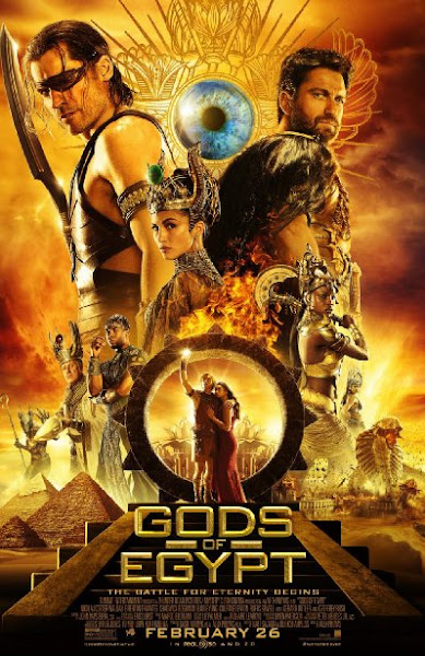 Poster Of Gods Of Egypt 2016 720p Hindi HDTS Dual Audio Full Movie Download