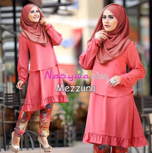 Model Baju Muslim Untuk Wanita Pendek Terbaru