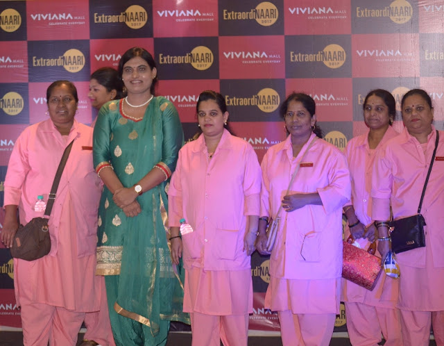 This Women's Day, Viviana Mall honors women achievers and women rickshaw drivers