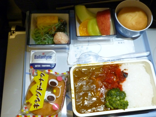 in‐flight meal CI017便