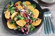 """Switch Hitter"" Persimmon Salad"