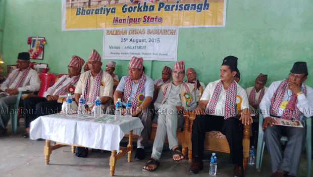 Manipuri Gorkha leaders