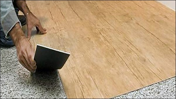 assentamento de piso vinilico