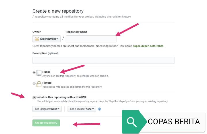 Cara Upload File JavaScript di GitHub