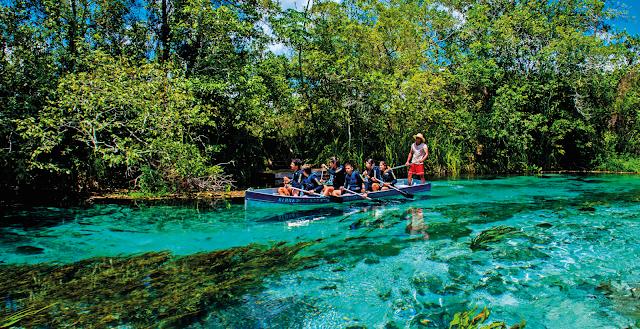 Dicas H2O para quem quer viajar mais - Águas cristalinas de Bonito MS