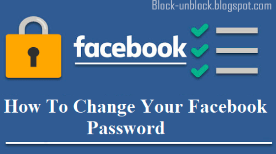 How to Change Facebook Password Fast