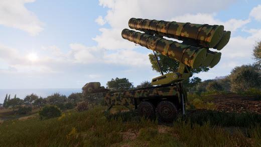 S-750 Rhea SAM システムと R-750 Cronus レーダー システム