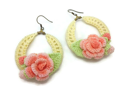 https://www.etsy.com/listing/387585358/yellow-crochet-hoop-earrings-with-coral