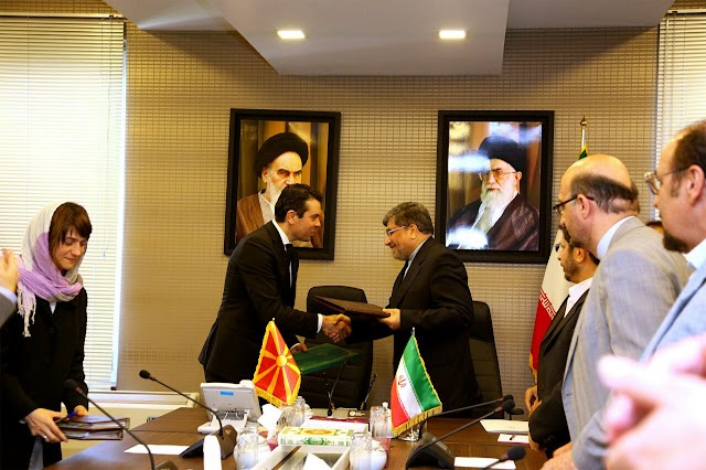Irans Präsident empfing mazedonischen Außenminister zu einem Meinungsaustausch