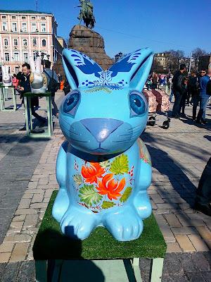 Выставочная работа на Софиевской площади