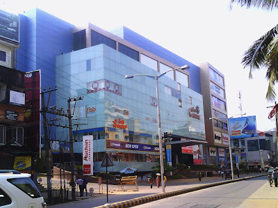 City Centre Mall on K.S. Rao Road Mangalore City in India