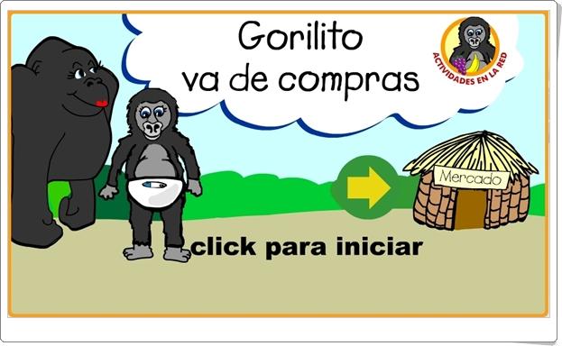 GORILITO VA DE COMPRAS (Alimentos de Educación Infantil)