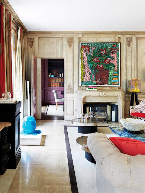 Contemporary Living Room Interior Design: Eye For Design: Decorating Paris Apartment Style.........A