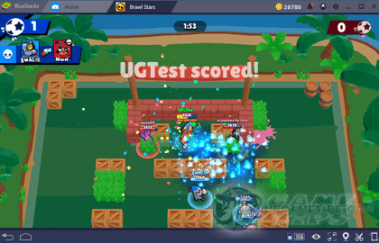 Brawl Stars Brawl Ball (3 vs 3)