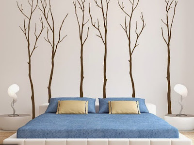 Wall Sticker Art For Bedroom and Living Room Ideas