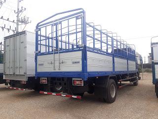 Kích thước thùng xe tải 9 tấn tại Hải Phòng