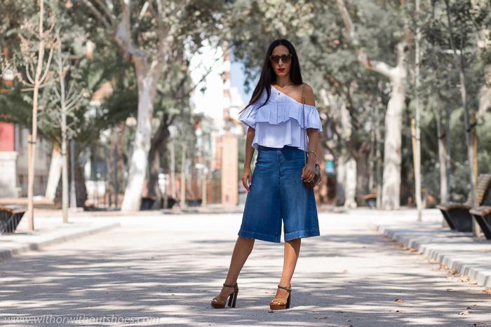BLogger influencer de moda belleza valenciana con prendas de Zara massimo Dutti y zapatos bonitos